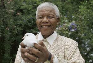 Parabéns Nelson Mandela!