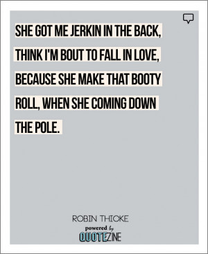 Robin Thicke Love Quotes