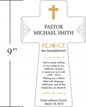 Home > Pastor Appreciation Gifts > Pastor Appreciation Cross Plaque
