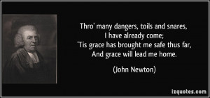 More John Newton Quotes
