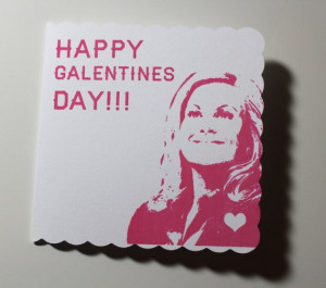 ... early) Galentine's Day from Leslie Knope! #feministgift #valentine