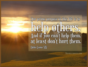 Dalai Lama Quotes, Best Quotes by Dalai Lama, Helping others Quotes