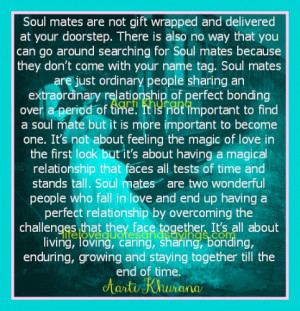 Soul mates Share An Extraordinary Relationship..