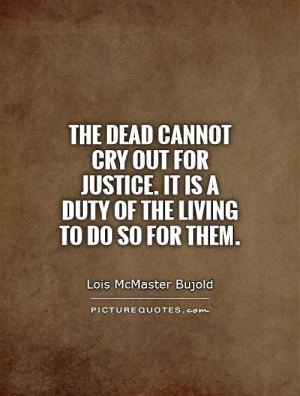 Sayings and Quotes About Justice