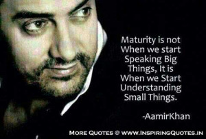 Aamir Khan Quotes, Famous Quotes, Thoughts, Sayings by actor Aamir ...