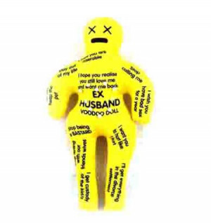 Ex Husband Jokes Voodoo doll - ex husband