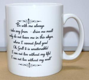 Wuthering Heights Mug, Heathcliff