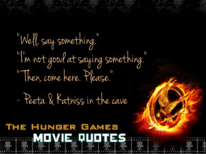 years ago tagged as thg hunger games hunger games quotes peeta ...
