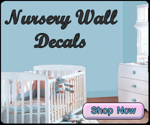 Church Nursery Decals