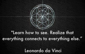 Da Vinci's sense of wholeness and interconnectedness could not be ...