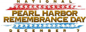 Pearl Harbor Remembrance Day facebook timeline cover