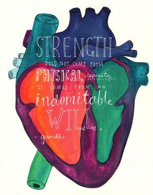 strength and will power