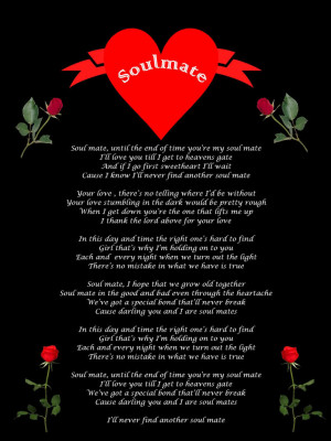 Displaying 16> Images For - Soulmate Quote...