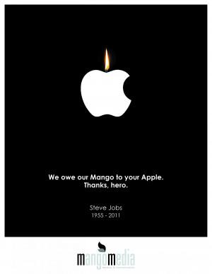 Steve Jobs Homage Ads