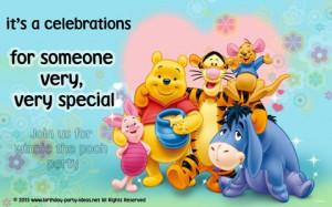 Winnie The Pooh Birthday Party