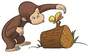 Curious-George-PBS-Kids-Monkey-Wall-Decal-Sticker-Nursery-Decor-Kids ...