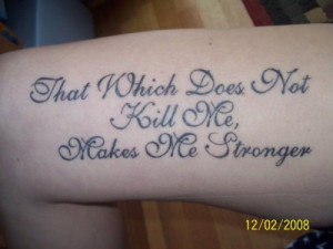 Short Meaningful Quotes For Tattoos For Girls