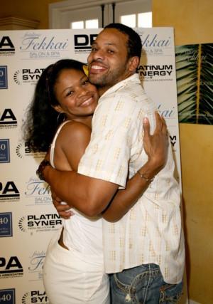 Kimberly Elise and Her Husband