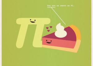 cute, math, nerdy, pie