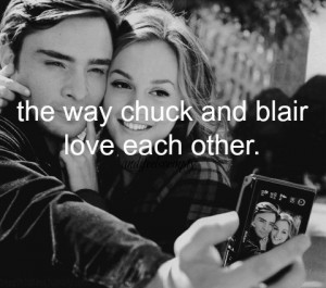 Ed Westwick and Leighton Meester / Gossip Girl, Quotes