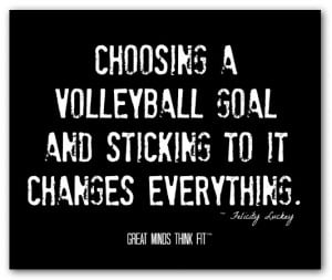volleyball motivational quotes