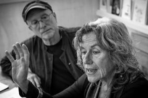 Bernardine Dohrn y Bill Ayers Violencia es quedarse en casa viendo
