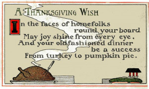 Funny Thanksgiving Poems And Sayings 2014
