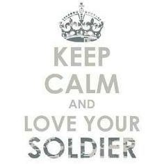 love my soldier! airborn soldier, keepcalm