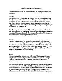 Athena In The Odyssey Essay Examples - image 5
