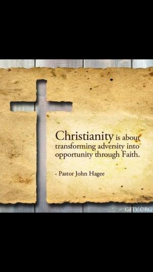 Faith in Jesus Christ! ;)