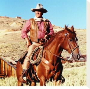 John Wayne ~ America's iconic cowboy