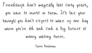 Carrie quote