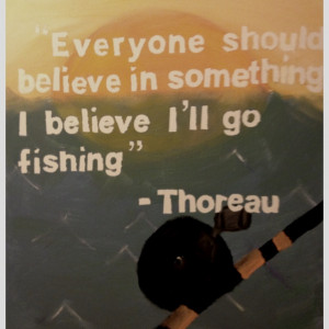 ... Quotes, Fishing Painted Cooler, Fishing Quotes, Quotes Thoreau, Quotes