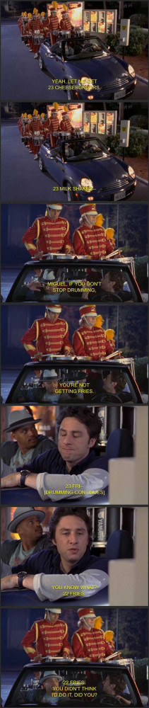 reminder why Scrubs was one of the best TV shows ever...