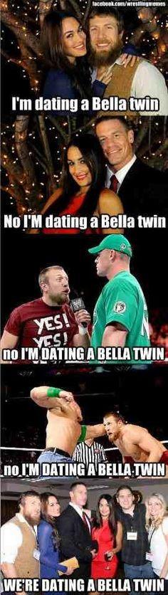 The Bella Twins!! Daniel Bryan and John Cena LOL More