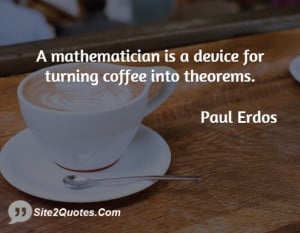 Paul Erdos Quotes