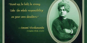 Home > Quotes > Motivational Quote on Taking Responsibility By Swami ...
