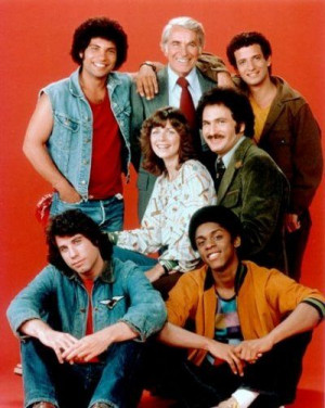 The Sweathogs! Horshack! Mr. Kotter! And John Travolta before he got ...
