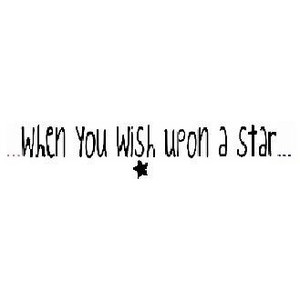 When you wish upon a star quote.