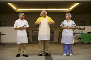 ... lunch line to the stage: LAUSD cafeteria worker featured in new play
