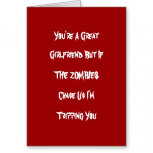 Funny Zombie Valintine Card By Letthemeatcupcakes Funny Valentine Card