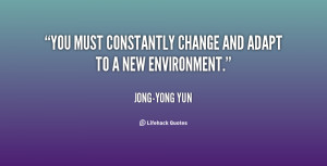 Quotes On Adapting To Change