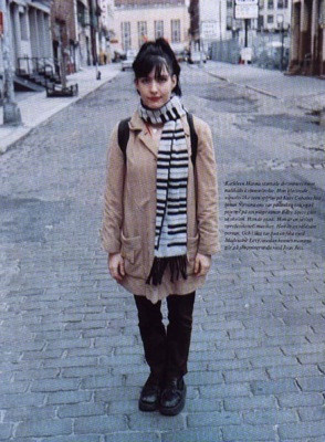 Most popular tags for this image include: kathleen hanna, style ...