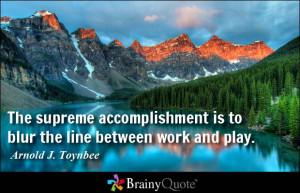 Accomplishment Quotes
