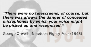 George Orwell quote from 1984
