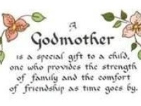 ... Proud GodMother...now where is my magic wand? Godkids! ️