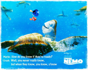 Finding Nemo Quotes Crush