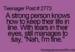 life, purple, quotes, stay strong, teen age, teenager post ...