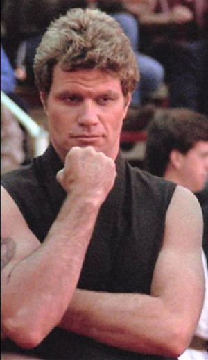 Next: Martin Kove as Sensei John Kreese from the Karate Kid