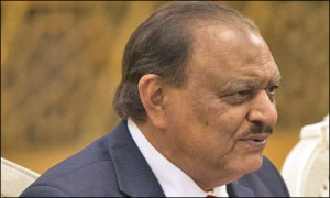 QUETTA: President Mamnoon Hussain is arriving here today on a 2-day ...